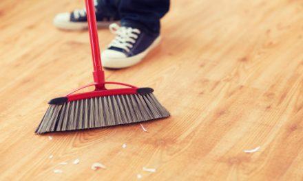 Como é a limpeza de pisos laminados!