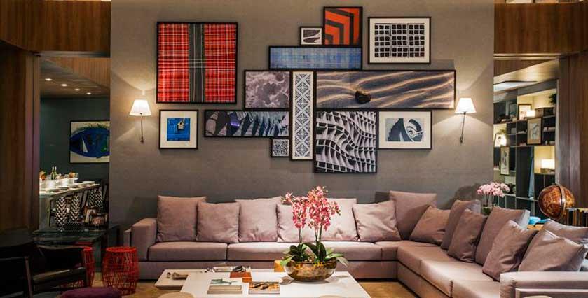 As cores significados e sensa es morar bem for Idea de pintura de corredor