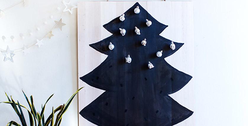 árvore De Natal Com Mdf E Tintas Eucatex Morar Bem