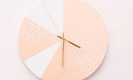 DIY: relógio de parede