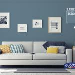 Inspiração: combine seu sofá com a parede