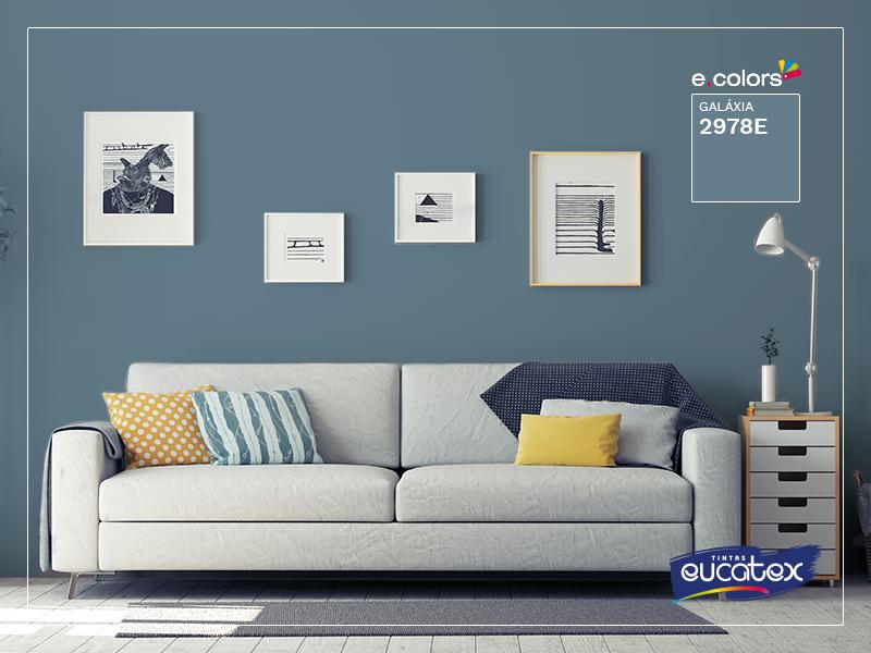 Inspiração: combine seu sofá com a parede - Morar Bem